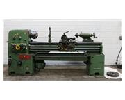 "16"" Swing 60"" Centers Barrett 16x60 ENGINE LATHE, Inch/Metric,Gap,Steady, 3-Jaw,"