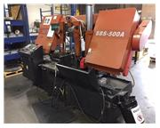"22"" Width 19.69"" Height Acra SBS-500A HORIZONTAL BAND SAW, Autofeed, PLC Control"