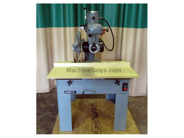 "Used Delta 18"" Radial Arm Saw, Model 33-062"