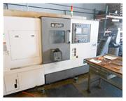 Samsung SL25ASY Sub Spindle CNC Lathe with Live Milling and Y-Axis