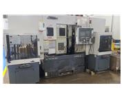 2005 Okuma Robusturn LFS12-2SP Twin Spindle/Turret CNC Gantry/Stocker Lathe