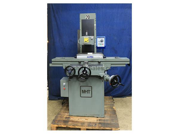 "8"" Width 18"" Length MITSUI MSG-250MH, NEW 1989, ROLLER BEARING TABLE SURFACE GRI"