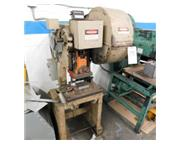 "15 Ton, Rousselle #2, OBI punch press, 2"" str, 7.75"" SH, 16"" x 11"" bed"