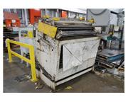 "50"" x .085"" Rowe # C-50 , straightener, 50"" W, 100 FPM, air clutch & brake,"