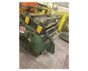 "50"" x .085"" Rowe # C3-50 , coil straightener, 100 FPM, 7.5 HP, air clutch & brak"