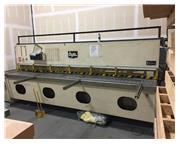 """1/4"""" x 12' DYE CNC Hydraulic Shear"""