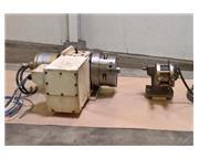 "4th-Axis Rot Tbl Nikken CNC-200 LF, 8.60"" Tbl Size, 16.6 RPM, 1 deg, T"