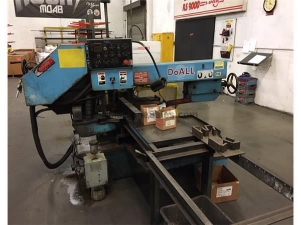 "DoAll 9""x16"" C-916SA Mitre Swivel Automatic Horizontal Band Saw"