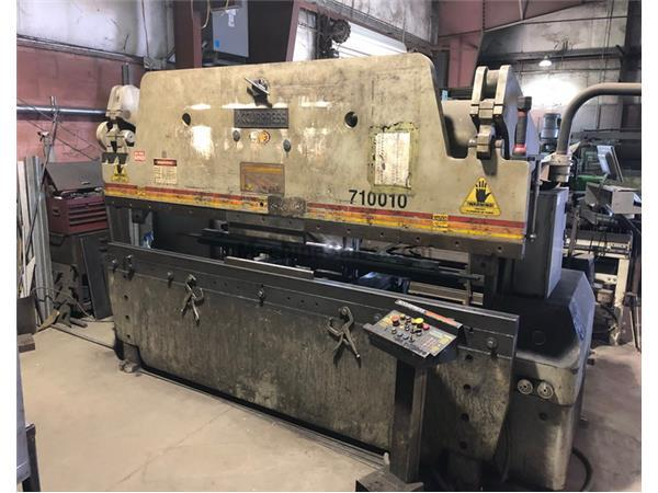 100 ton x 10' ACCURPRESS 710010 Hydraulic Press Brake