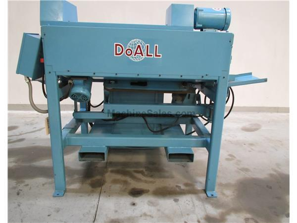 "1999 DO-ALL MODEL BRM-DEBURRING MACHINE, 2""  - 6"""