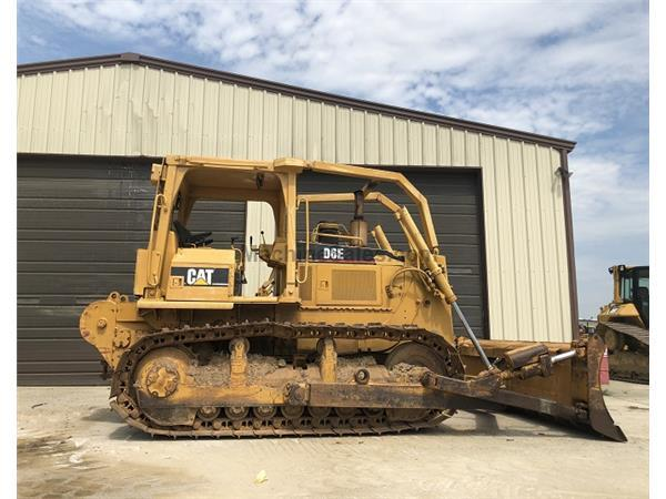 1995 Caterpillar D6E w/ Angle Blade & Sweeps - Stock Number: E7198