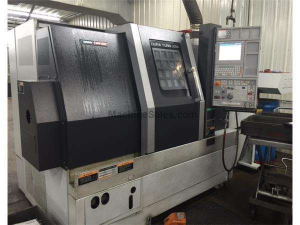 2014 DMG Mori Duraturn 2050 CNC Turning Center