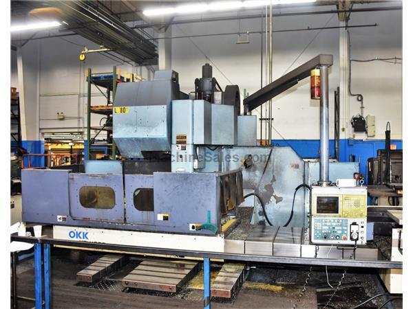 OKK MCV-1060 CNC Vertical Machining Center