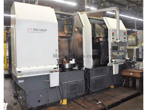HWACHEON VTC-550-2SP Twin Spindle CNC Vertical Lathe