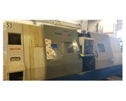 2005 Daewoo Puma 400LMB Long Bed CNC Turning Center with Live Tool