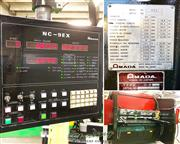 "88 Ton, Amada # RG80S , 8' OA, 80.8"" BH, 3.94"" str, Amada NC9EX 3-Axis, 19.6&quo"