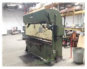 "75 Ton, Di-Acro # 75-10 , Hydra-mech. press brake, 10' OA, 102"" BH, 24"" FOMBG w/"