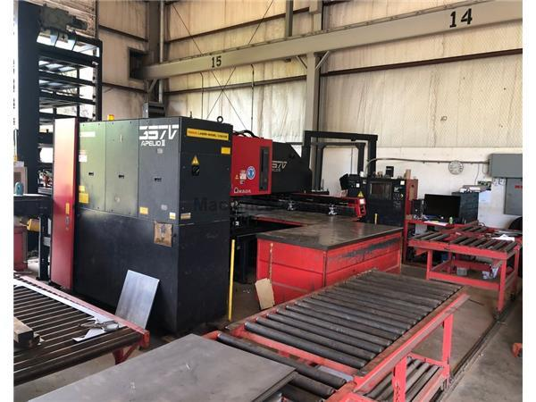 Amada 357V Apelio III Punch Laser with FMS System