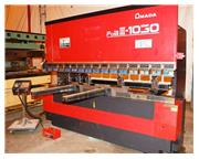 Amada FBD 1030LDR 110 Ton x 10' CNC Up-acting Press Brake