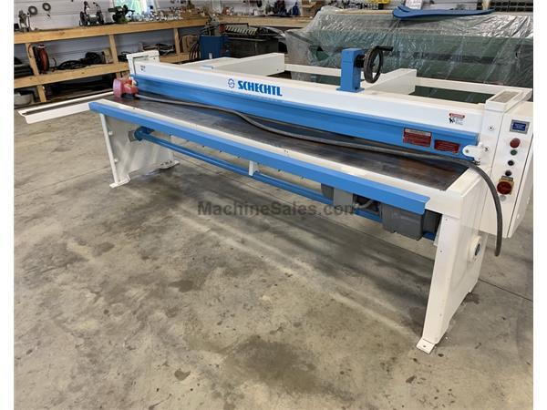 "16 GA x 123"" SCHECHTL Power Shear Model SMT 310/BV, Rebuilt"