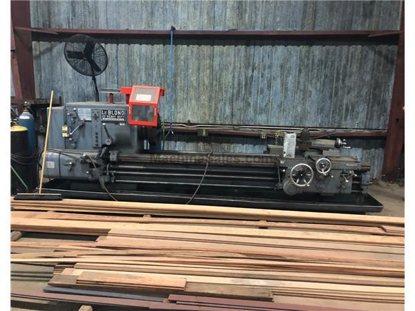 "LEBLOND 25"" HEAVY DUTY ENGINE LATHE"