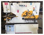 120 Ton GEKA 110SD Hydraulic w/Semi-Paxi CNC, 2012