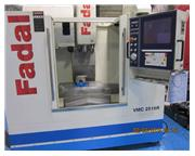 Fadal # VMC2516R , Fadal 64 MP controls, Cat 40, 10k RPM, conveyor, CTS, very low hrs, 201