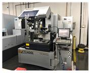 Sodick AG400L wire edm, 2013, under 11,000 cut hours