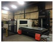 6000 WATT MAZAK OPTIPLEX II 3015 FIBER LASER CUTTING SYSTEM INSTALLED: 2017