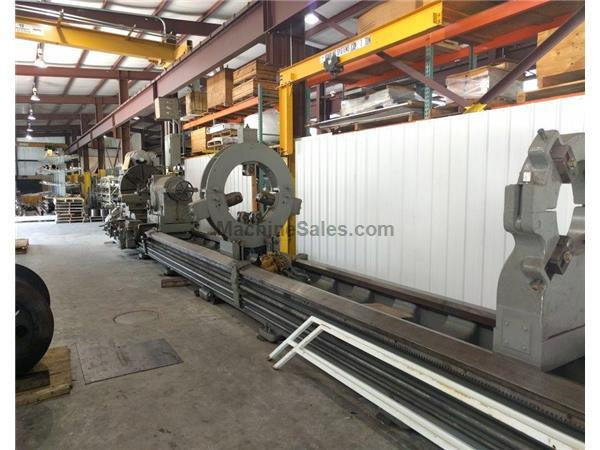 "LEBLOND 64"" X 34' ENGINE LATHE"
