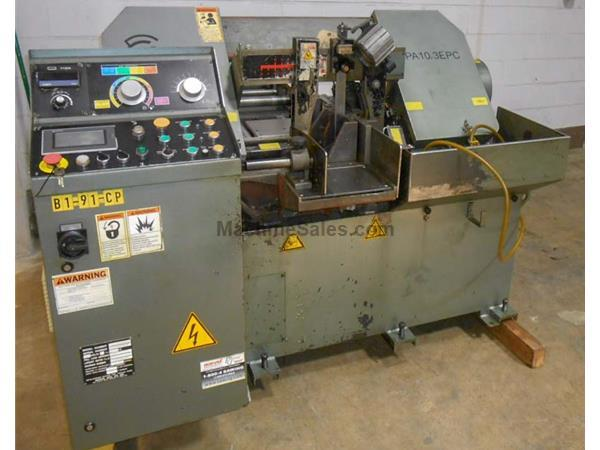 "10"" x 11.5"" Marvel Spartan PA10/3/EPC Horizontal Band Saw"