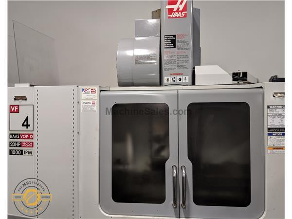 "HAAS, VF-4D, 50"" X, 20"" Y, 25"" Z, NEW: 2006"