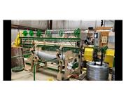Bergandi high speed chain link weaving machine