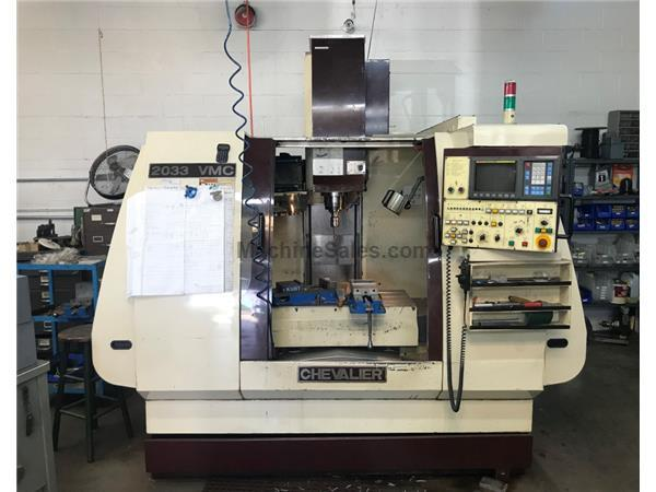 2000 Chevalier 2033 VMC CNC Vertical Machining Center