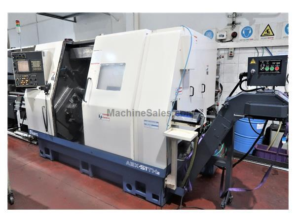 MIYANO MODEL ABX-51TH2 10-AXIS TWIN SPINDLE 3 TURRET