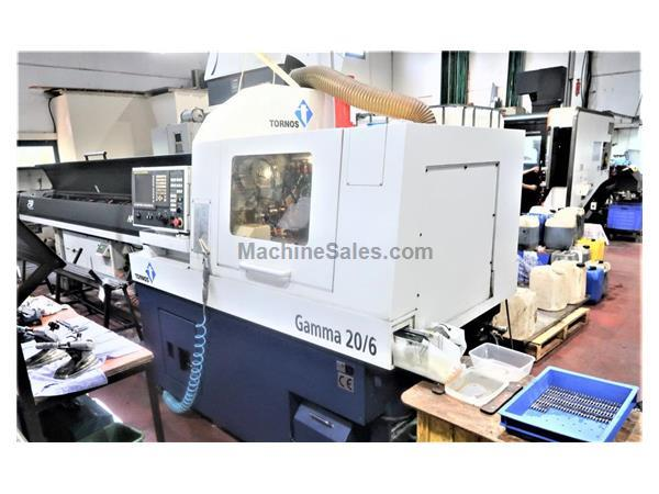 TSUGAMI S206 / TORNOS GAMMA 20/6 6-AXIS CNC SWISS TYPE AUTOMATIC NEW 2011