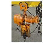 1/2 TON HARRINGTON ELECTRIC CHAIN HOIST