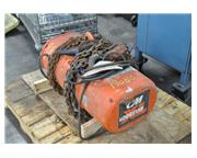 2 TON CM LOADSTAR ELECTRIC CHAIN HOIST