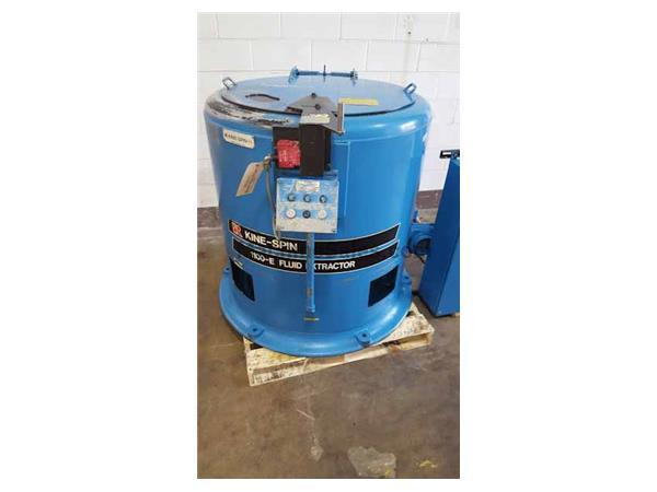 Barrett Kine-Spin 1100E Automatic Carrier Type Centrifugal Oil Extractor