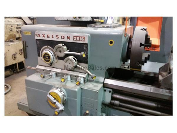 AXELSON MODEL 2516 ENGINE LATHE