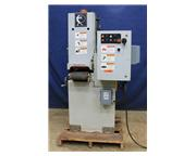 "9"" Width Timesaver 960-1MD, NEW 2000, DRY, 5 H.P., BELT GRINDER, VARI-SPEED CONVEYOR"