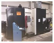 2- OKK HP 500S (2006) Horiz. Machining Center Full B Axis 2-Pallet Changer
