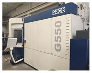 Grob G550 (2014) 5 Axis CNC Horizontal Machining Center 2-Pallet Changer,