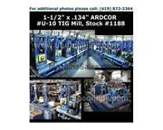 "1-1/2"" (38mm) x .134"" (3.4mm) ARDCOR #U-10 TIG Mill"