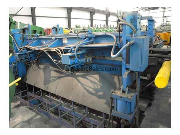 $3,950! 8′ WYSONG Double Sided Mechanical Shear