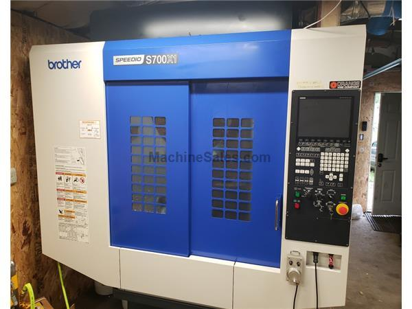 2018 Brother Speedio S700X1 CNC Drill/Tap Center