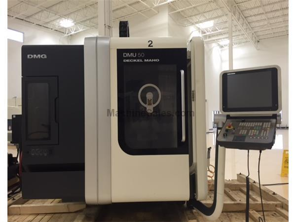 2010 DMG Mori DMU50 5 Axis Vertical Machining Center