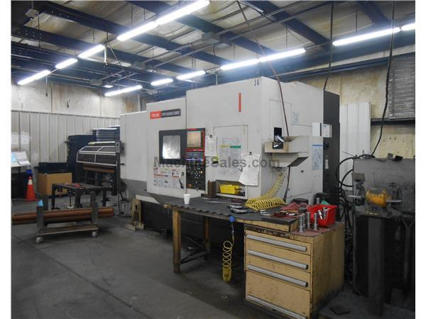 "Mazak Hyper Quadrex 200MSY,  8"" Chk, Mazatrol Matrix, 20HP, New 2010"