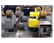2006 70 ton ESAB Self-Aligning Power Tank Turning Rolls, Drive & Idler