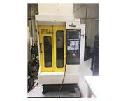 "11.81"" X Axis 11.81"" Y Axis Fanuc Robodrill T21iFsa, New 2009, 10K Spindle, VERT"